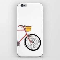 Bicycle Number Four iPhone & iPod Skin