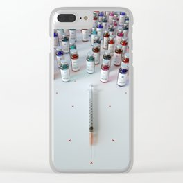 """Daily medicine"" Clear iPhone Case"