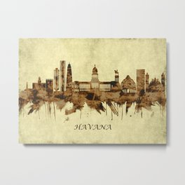 Havana Cuba Cityscape Metal Print
