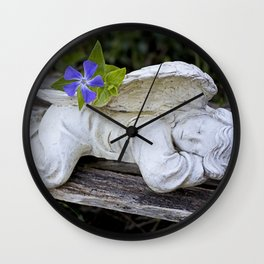 The Sleeping Angel Wall Clock