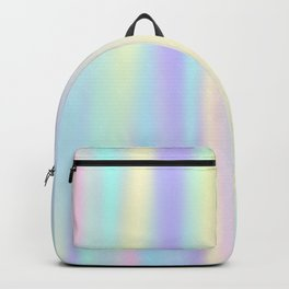 Pastel rainbow abstract Backpack