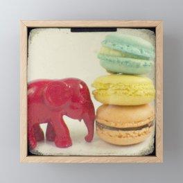 Push over Framed Mini Art Print