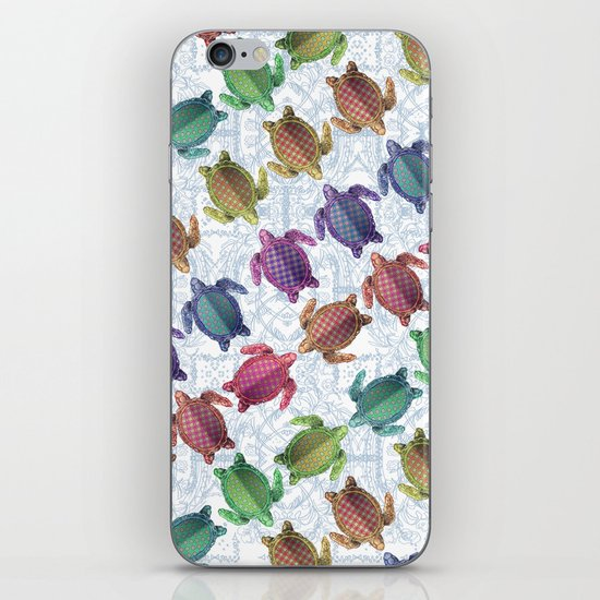 Turtle Frame iPhone & iPod Skin