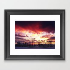 Arctic Warmpth Framed Art Print