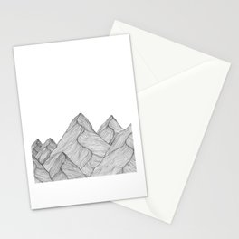 Mounains II Stationery Cards