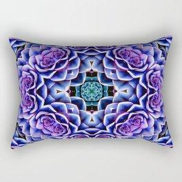 Echeveria Bliss Three Rectangular Pillow