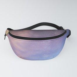 Pink Blue Glitter Galaxy Fanny Pack