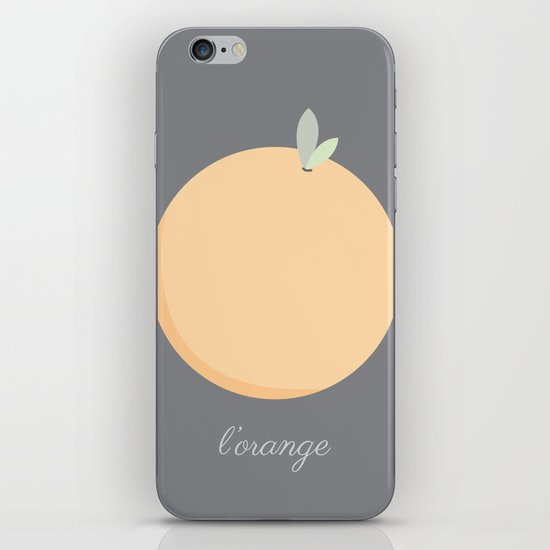 L'orange iPhone & iPod Skin
