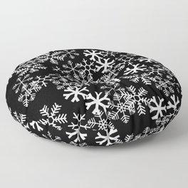 Winter in the Mitten Floor Pillow
