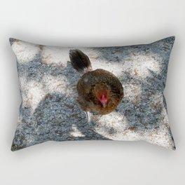 Along came Chicken Rectangular Pillow