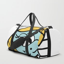 Blue Smurfette inspired picture Duffle Bag