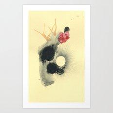 the pearl Art Print