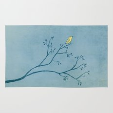 Yellow Bird Rug