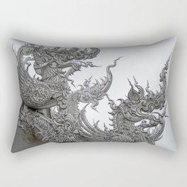 The White Temple - Thailand - 013 Rectangular Pillow
