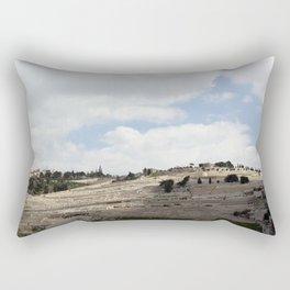 Mount of Olives Rectangular Pillow