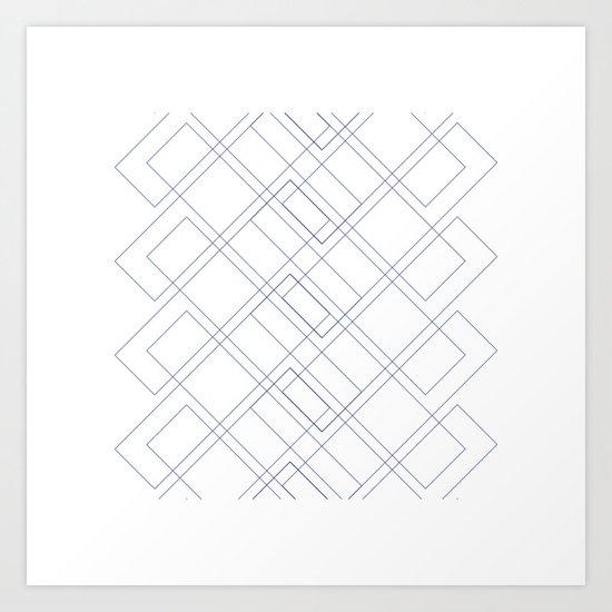 #171 Seasonal migration – Geometry Daily Art Print