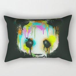 Technicolour Panda Rectangular Pillow