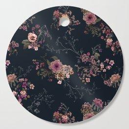 Japanese Boho Floral Cutting Board