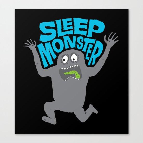 Sleep Monster Canvas Print