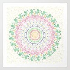 Plant Line Art 5 Art Print