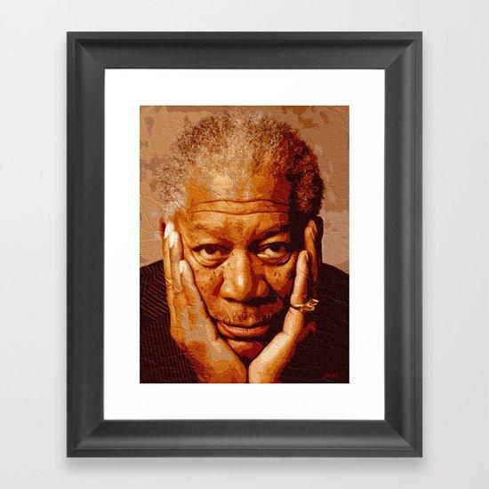 free-man Framed Art Print