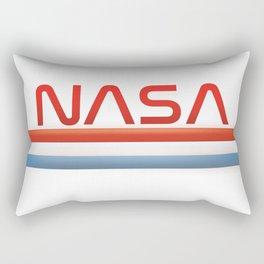 NASA Three Stripes Logo Rectangular Pillow