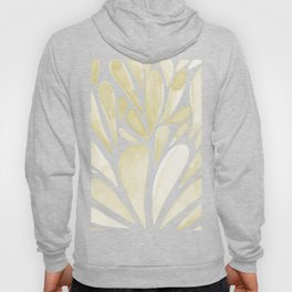 Watercolor artistic drops - yellow Hoody
