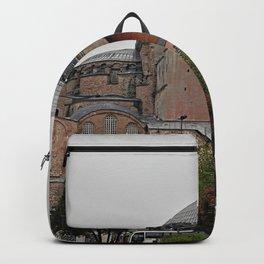 Hagia Sophia Monument, Istanbul Turkey Backpack