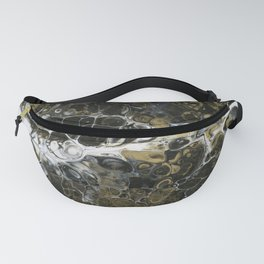 Team Splash, Black and Gold Fanny Pack