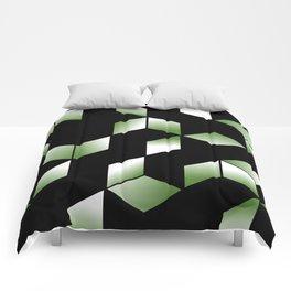 Elegant Origami Geometric Effect Design Comforters