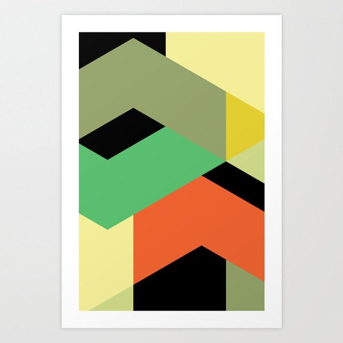 Minimal Direction n° 2 Art Print