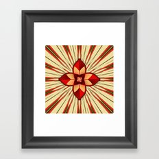 Abstract symbolism Framed Art Print