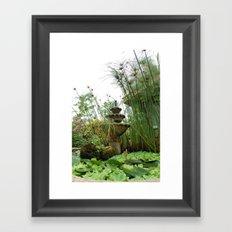 Lush Hideaway Framed Art Print
