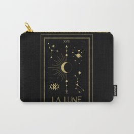 The Moon or La Lune Gold Edition Carry-All Pouch