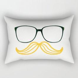 Spectacular Mustache Rectangular Pillow