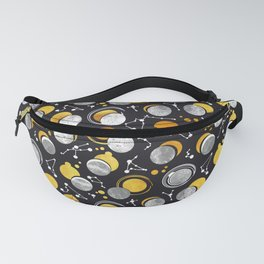 Great Total Solar Eclipse Fanny Pack