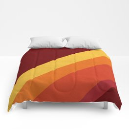 Retro 70s Color Palette II Comforters