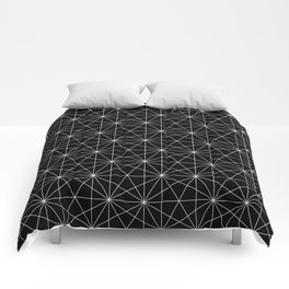 Intersected lines Comforters