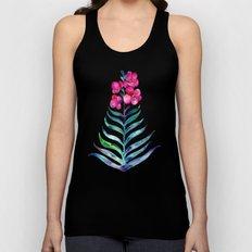 Blooming Orchid – Fuchsia & Indigo Palette Unisex Tank Top