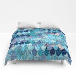 SUMMER MERMAID DARK TEAL Comforters