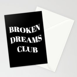Broken Dreams Club Monochrome Stationery Cards