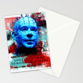 """Hellraiser Pinhead """"Angels to Some"""" Stationery Cards"""