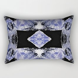 Indigo Mandala-Third Eye Chakra Rectangular Pillow