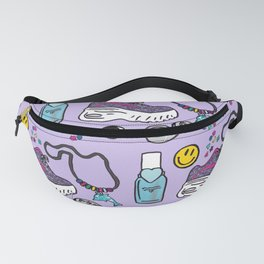 The 90s- Accessorised Fanny Pack