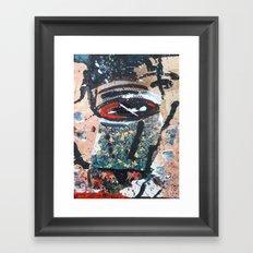 Deer Abductor  Framed Art Print