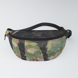 """"""" Mare And Foal Hole Punch """" Fanny Pack"""