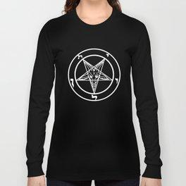 Das Siegel des Baphomet - The Sigil of Baphomet Long Sleeve T-shirt