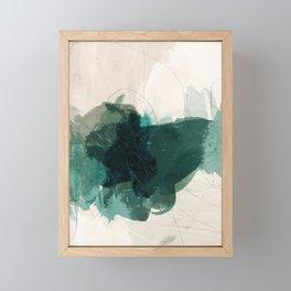 gestural abstraction 02 Framed Mini Art Print