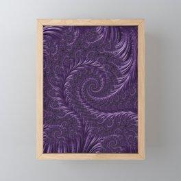 Deep Purple Framed Mini Art Print