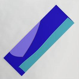 Minimal With Blue Yoga Mat